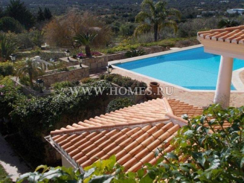 Роскошное имение в предгорьях Алгарве в Португалии